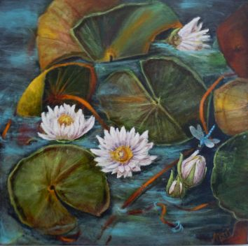 Dragonfly Muse ©Morri (sold)