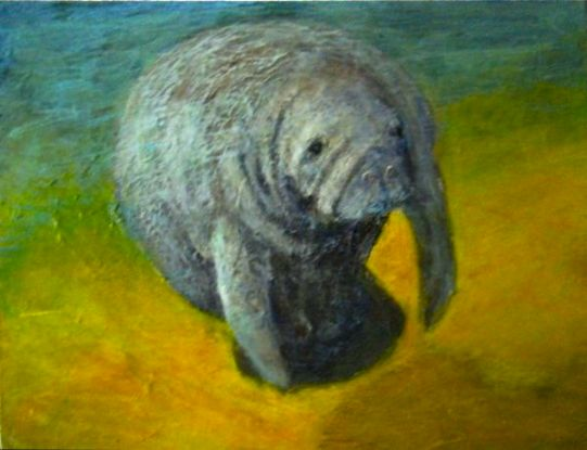 Manatee Magic ©Morri (sold)