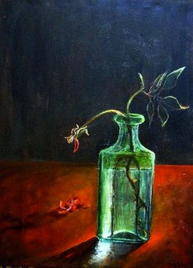 """Light..Within the Thorns ©Morri ( 24"""" x 32"""" acrylic on canvas $!,250.00 +tax/shipping )"""